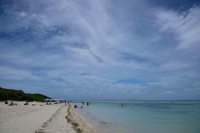竹富最大のビーチ コンドイ浜