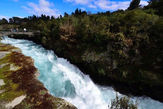 迫力の大瀑布 フカフォール