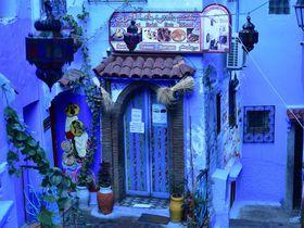 モロッコ・青の街シャフシャウエンのフォトジェニックなスポット