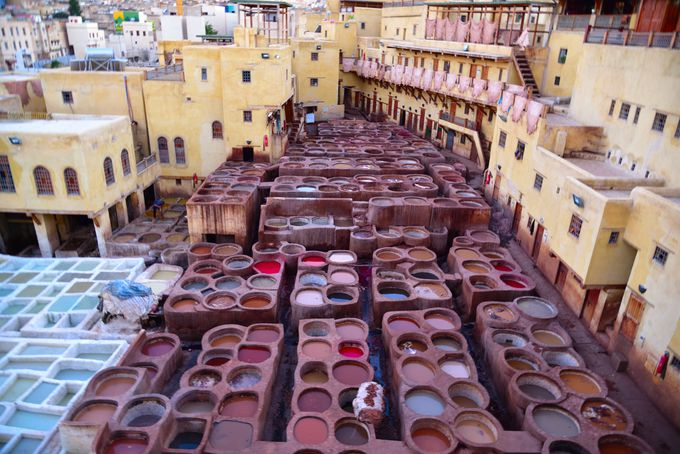 モロッコ特産の中心・フェズ職人の工房