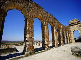 モロッコで唯一!ローマ帝国時代の世界遺産・ヴォルビリス