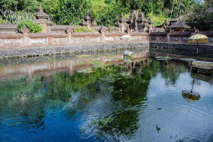 伝統ある沐浴場の絶景 ティルタ・ウンプル寺院