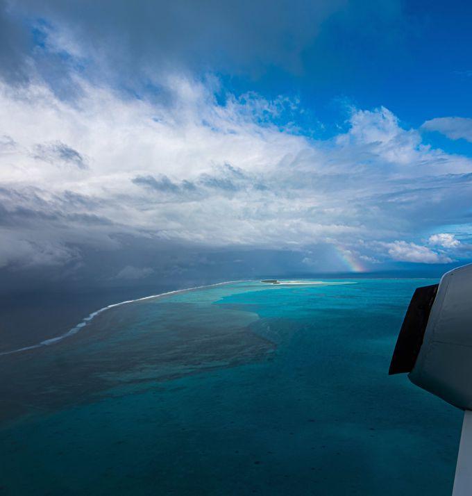 楽園気分を味わえるアイツタキ島