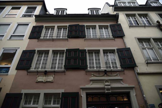 博物館となっているベートーヴェンの生家