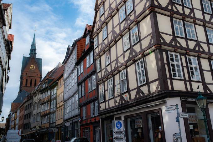 ノスタルジックな雰囲気溢れる旧市街