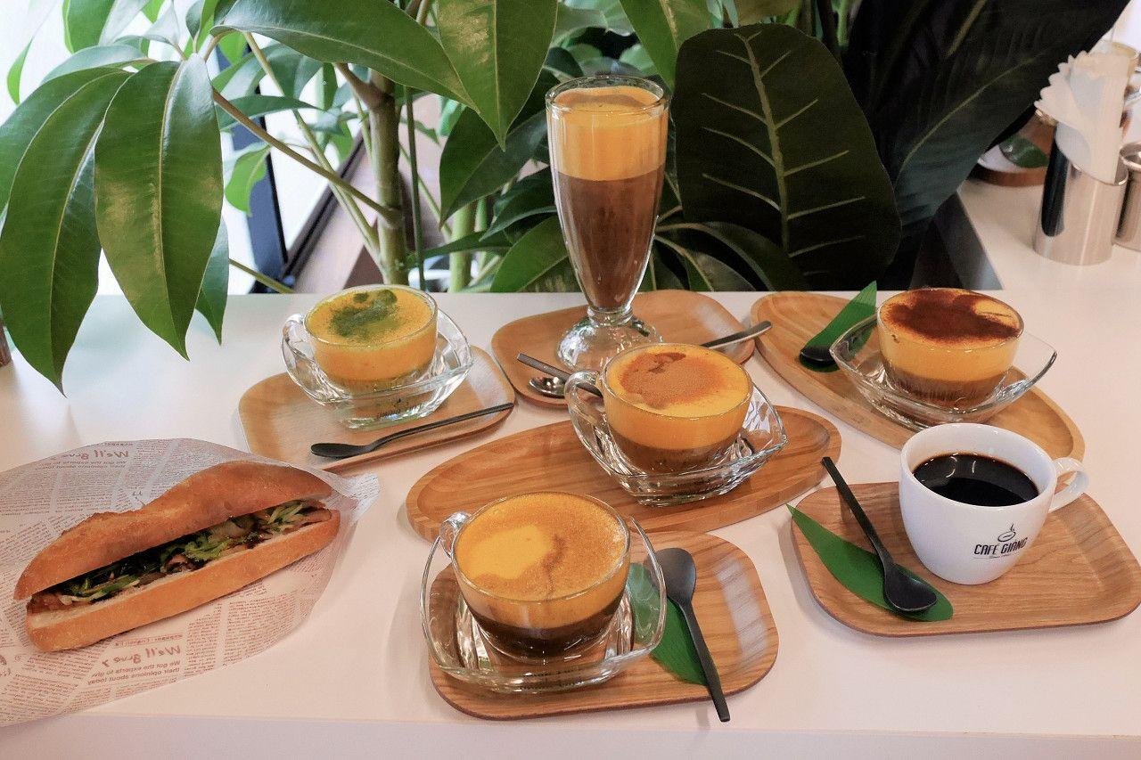 観光の合間に、軽食にエッグコーヒーと合わせたい「バインミー」