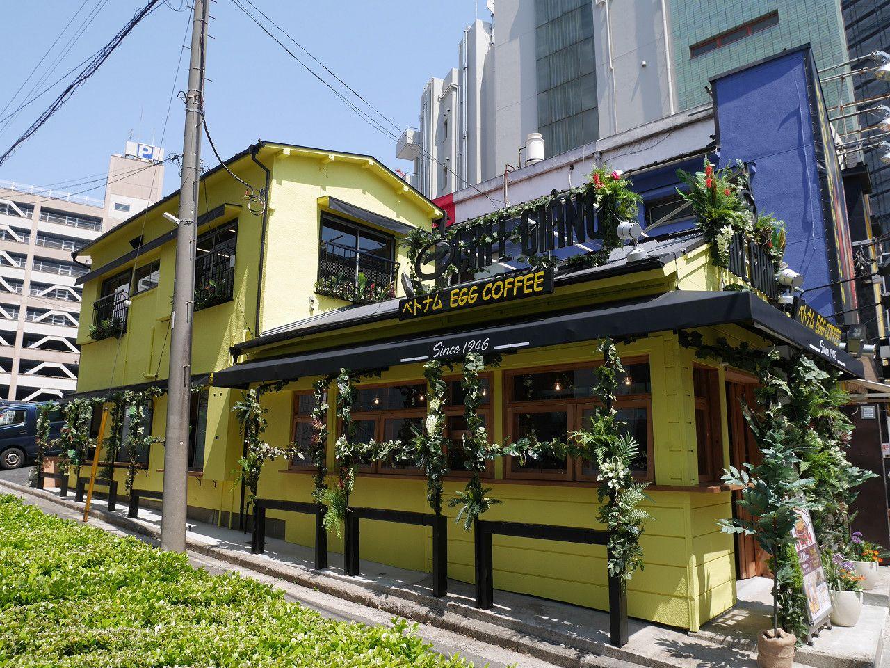 ベトナムで人気の「エッグコーヒー」発祥の店「カフェジャン)」が横浜中華街にオープン