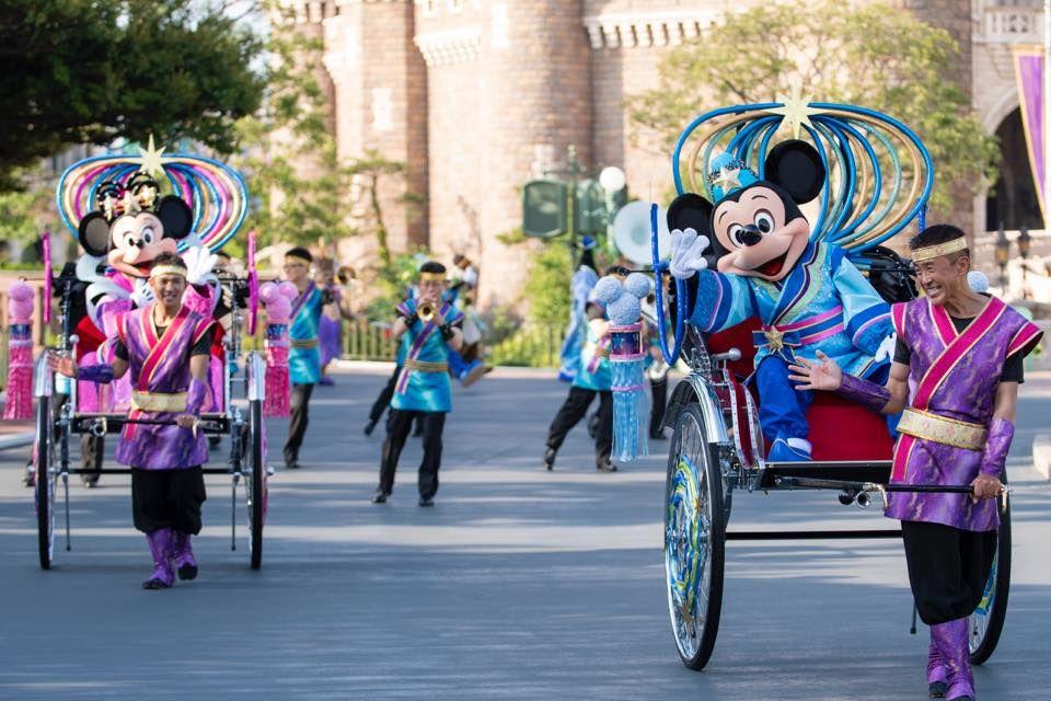 東京ディズニーリゾート七夕デイズが2018年も開催!パークは七夕ムード一色