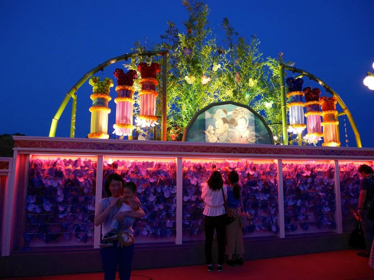ウィッシングプレイスに願いを!東京ディズニーリゾートで一年に一度の七夕デコレーション