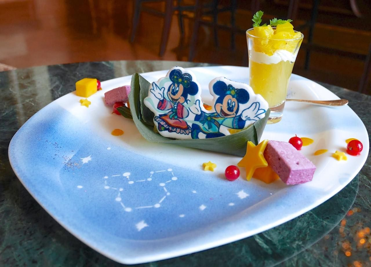 東京ディズニーランドホテルで「ディズニー七夕デイズ」アフタヌーンティーセットを満喫