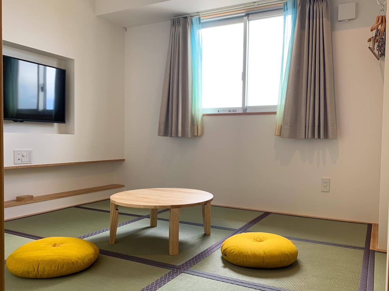 新設された新館「asobi棟」の客室は3タイプ