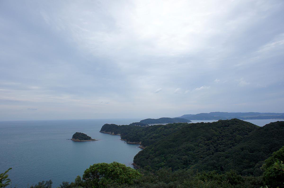 大阪湾の入口に浮かぶ友ヶ島
