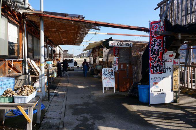 坂越港の海の駅しおさい市場