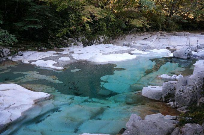 仁淀川の始まり「面河渓」(愛媛)