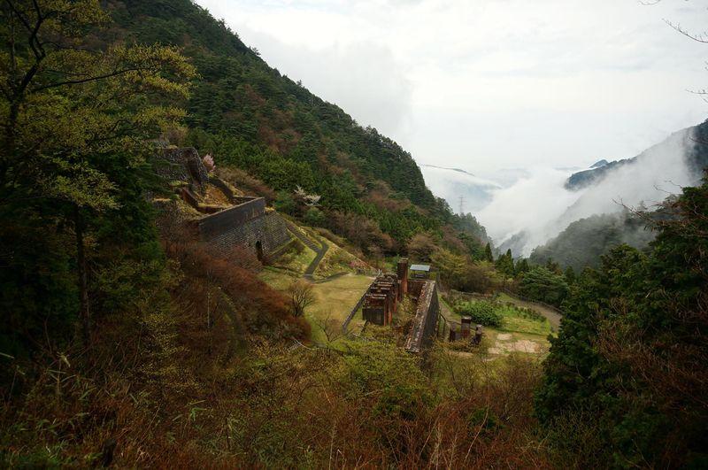 愛媛・別子銅山は現代のラピュタ!かつて1万人が暮らした天空の村