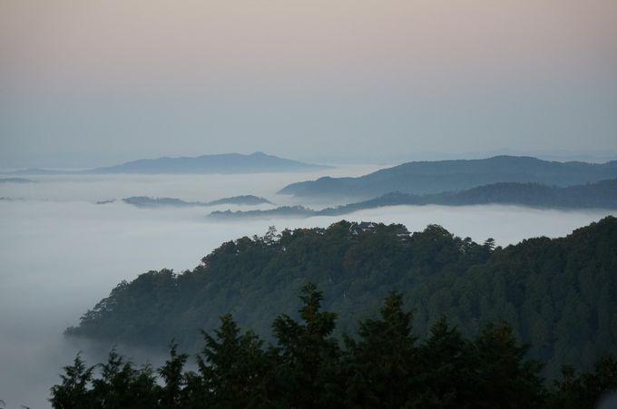 雲海が発生する条件とは