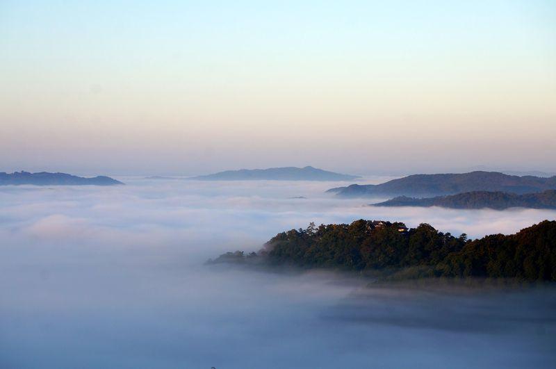 今話題の天空の城!雲海に浮かぶ備中松山城の攻略法(岡山県高梁市)