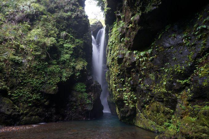辿り着けない滝は極上のパワースポット「轟九十九滝」