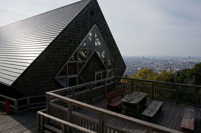 らくらく登山道の拠点となる「らくらくセンターハウス」
