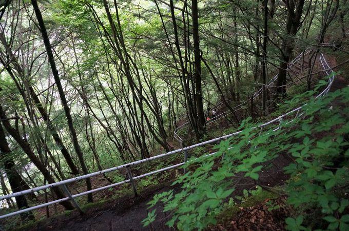 乗鞍高原の入り口にある「番所大滝」