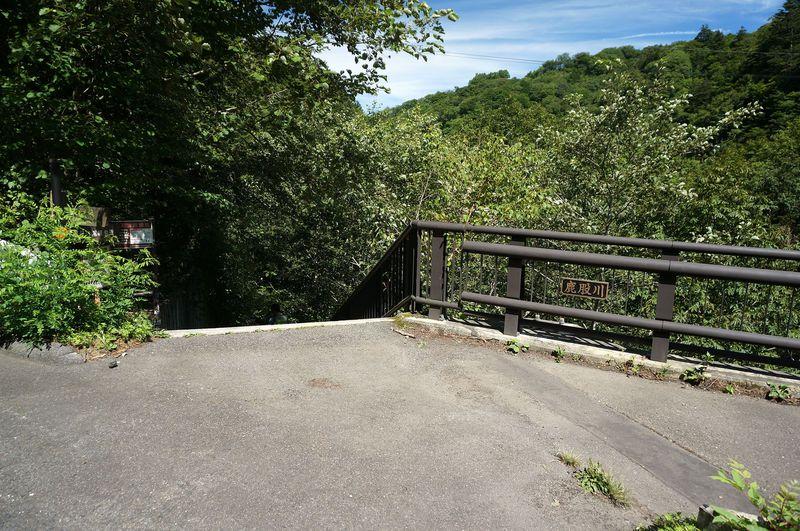 スッカン沢「雄飛の滝線歩道」