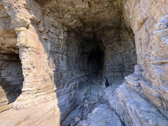 絶景スポット鳥毛洞窟