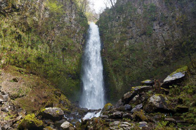 日本百選の滝「雨滝」