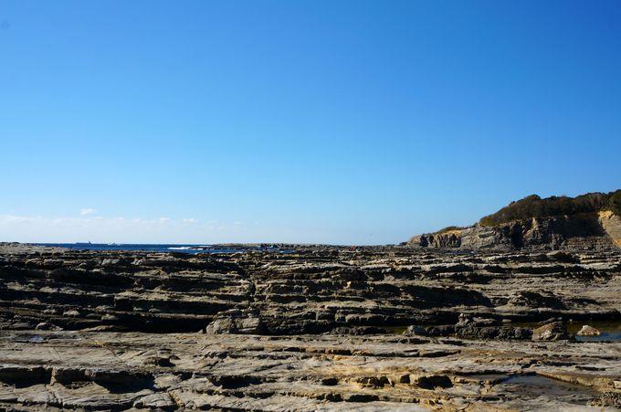 もう一つの千畳敷「志原海岸」