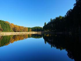 奈良・宇陀の山あいに景色が溶け込む神秘的な鏡の池「龍王ヶ渕」