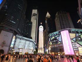 73階から大都会中国「重慶」の高層ビル群を見下ろせる展望台があった!