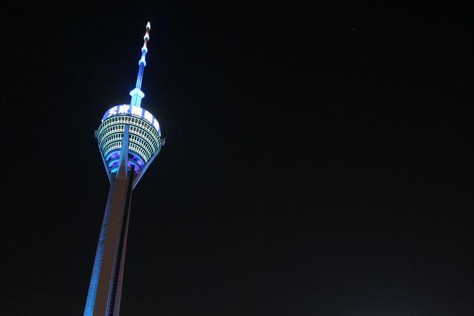 中国西部で一番の高さを誇る四川省テレビタワー