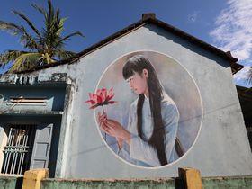 村全体がアートギャラリー!ベトナムの漁村「タムタイン村」
