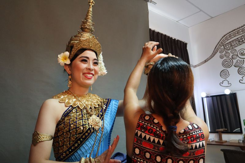 女子必見!カンボジアで天女に変身!「アプサラスタイルワン」