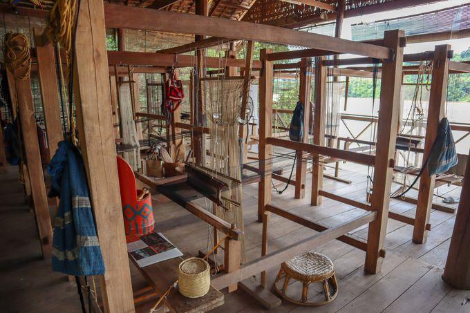 充実した伝統工芸のワークショップ