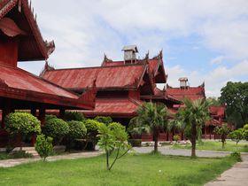 ミャンマーの王朝時代に思いを馳せて「マンダレー王宮」