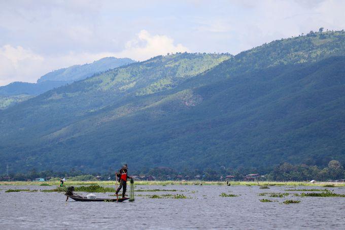 ミャンマーのシャン州に位置するピンダヤ