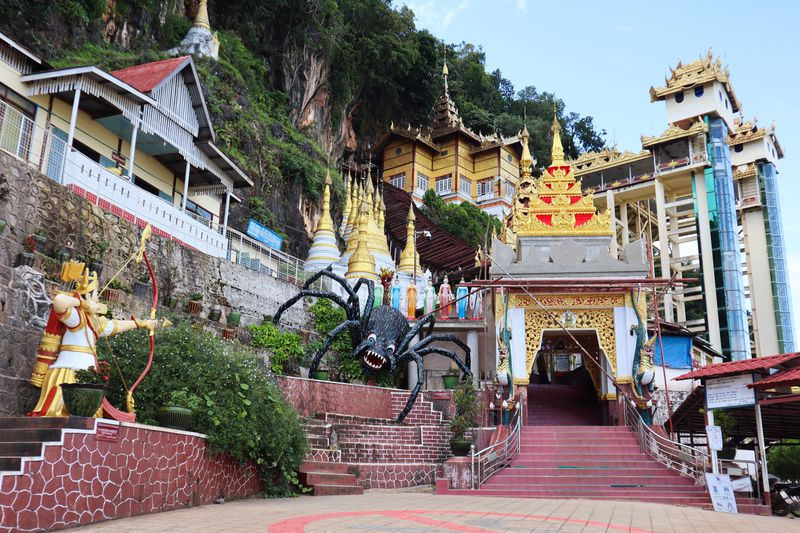 仏像だらけの迷路のような洞窟!ミャンマー「ピンダヤ洞窟」