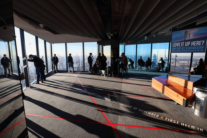 360度のパノラマのメルボルンの景色に感動