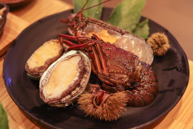 ボリューム満点のBBQでお肉も海鮮も堪能