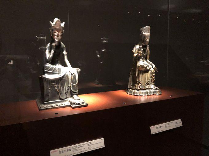 壮観!法隆寺宝物館にずらりと並ぶ、6〜8世紀の金銅仏