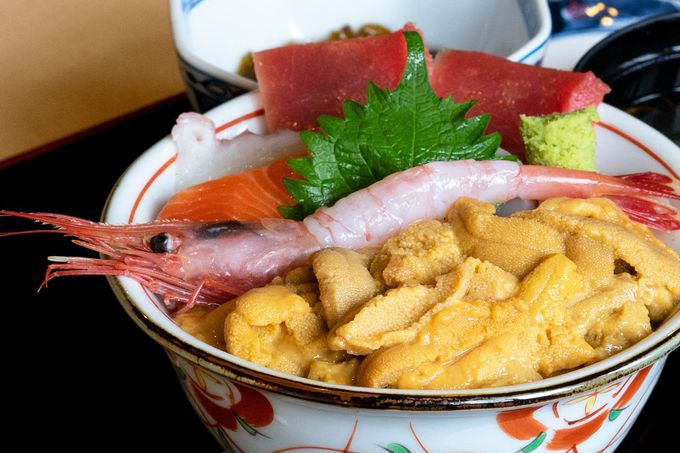 【12:30】世界で活躍!一本釣り漁師の海鮮味処「新生」