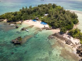 無人島で沖縄満喫!ホテルムーンビーチ・ヨウ島ツアー