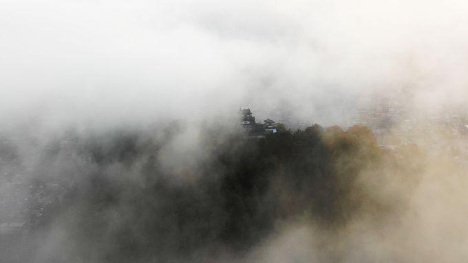 天空の城「越前大野城」& 日本一の星空「六呂師高原」