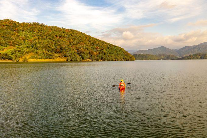 神秘の5色湖「三方五湖」