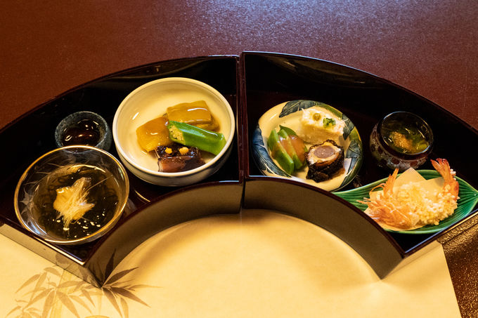 厳選されたこだわりの季節の食材から生み出される一皿