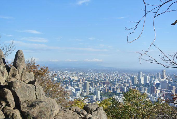 円山山頂で「龍の力」をキャッチ!