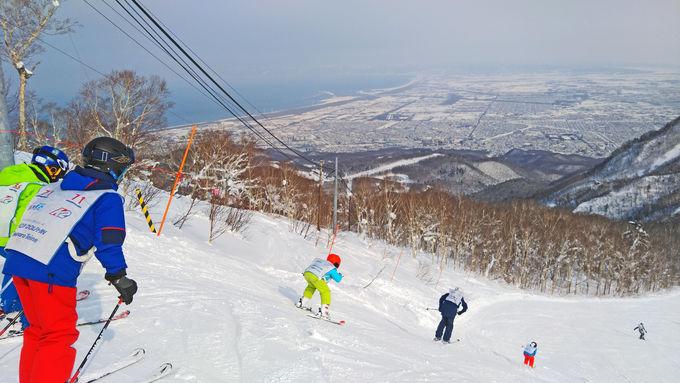 「ハイランド」の絶景コースを滑る