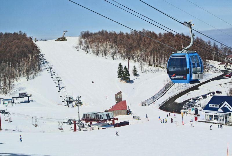 札幌市内のビッグスキー場!サッポロテイネの2ゲレンデを制覇
