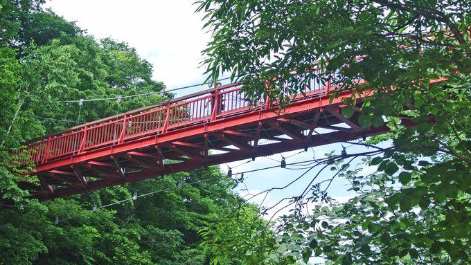 二見吊橋とかっぱ淵