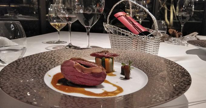 フレンチレストランで「食のアート」を堪能